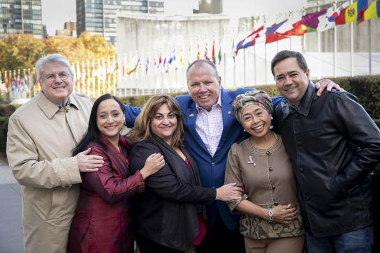 6 humanitarians honored for their work with refugees