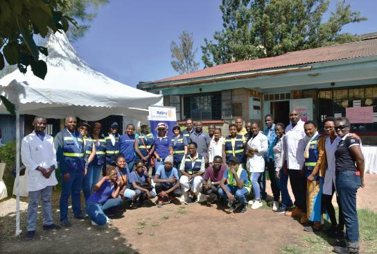 Kenyan Rotary Clubs Sow Seeds and Reflect on the Fruits of Their Labor