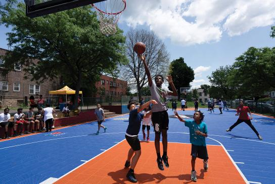 Hoops on the Hudson