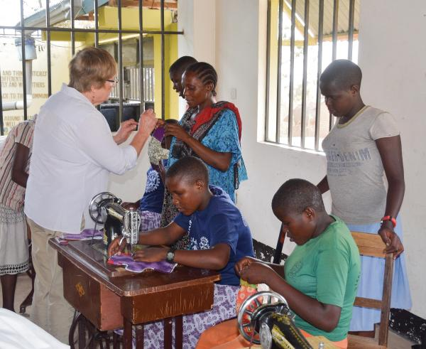 Project Zawadi set up a vocational training center and furnished a dormitory at Makongoro Secondary School.