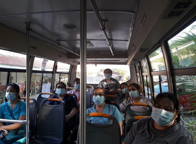 image of COVID-19 Taskforce in-transit